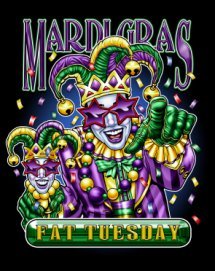 Fat tuesday coloring pages | 271x215