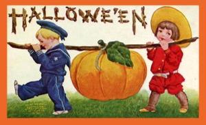 Vintage-2-kids-halloween-card